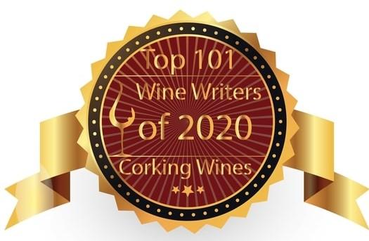 Top wine writer award icon