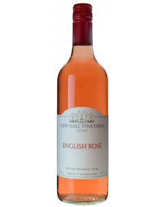 New Hall Vineyards Essex English Rose 2018