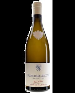Domaine Pierre Naigeon Bourgogne Aligote Skin Contact sans sulfites ajoutes 2019
