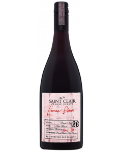 Saint Clair Pioneer Block 26 Tutu Block Marlborough Pinot Noir 2017