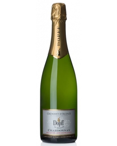 Dopff Au Moulin Alsace Chardonnay Brut Nature Sans Souffre Ajoute Cremant d'Alsace 2017