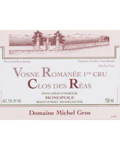 Domaine Michel Gros Vosne Romanee 1er Cru Clos des Reas MONOPOLE 2012