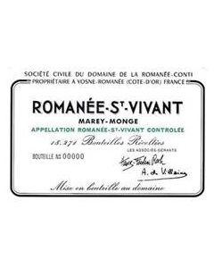 Domaine de la Romanee Cont Romanee St Vivant Grand Cru 2016