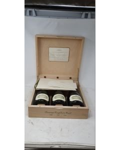 Krug 'Clos de Mesnil' 300th year Anniversary (1698-1998) Collectors Case