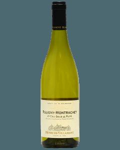 Henri de Villamont Puligny-Montrachet 1er Cru Sous le Puits 2017